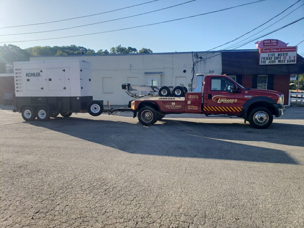 Linhard's 24/7 Towing in Shrewsbury