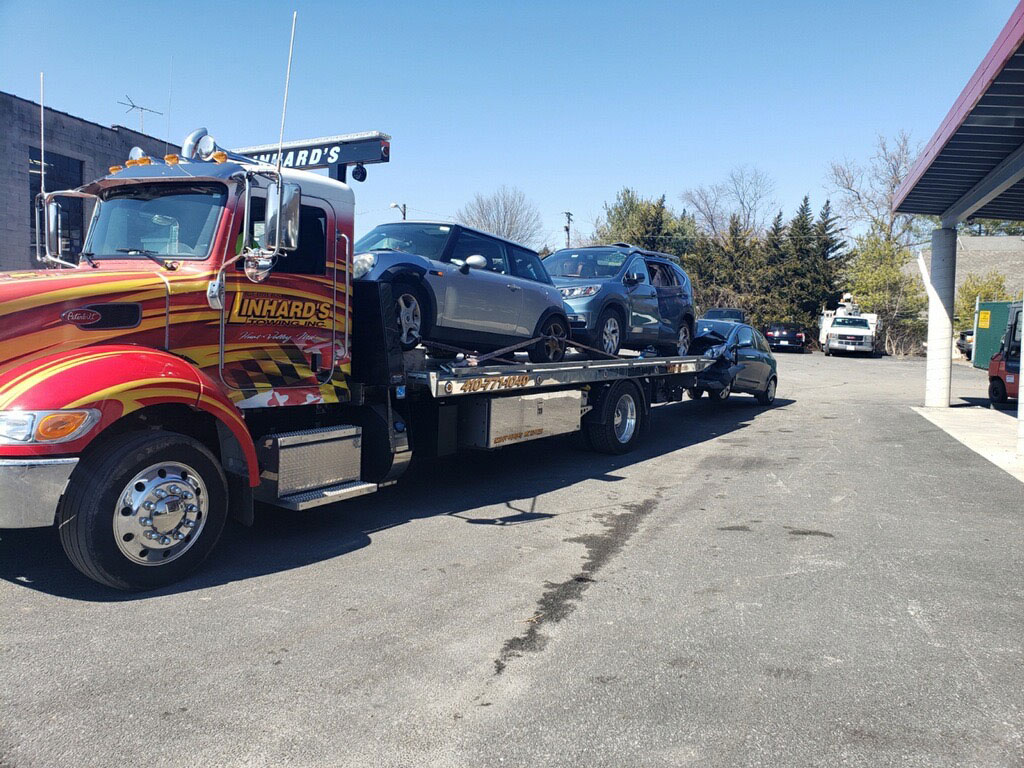 Linhard's 24/7 Towing in Ruxton